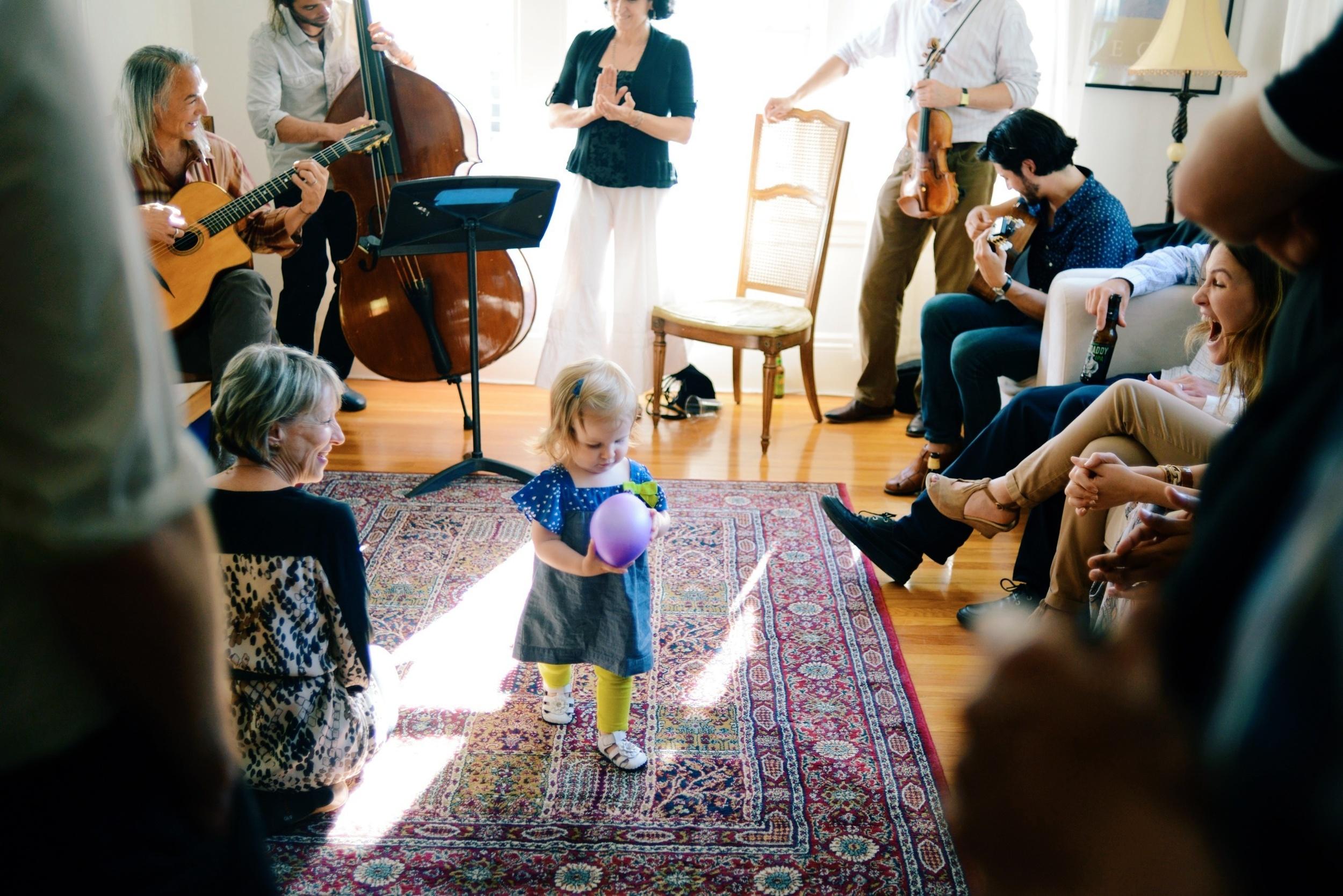 Lila loved the string quartet.