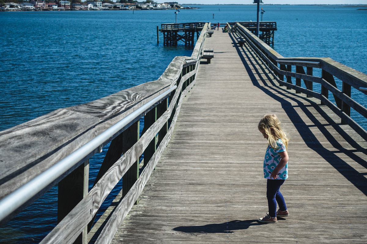 12:15pm: Checking out the pier.