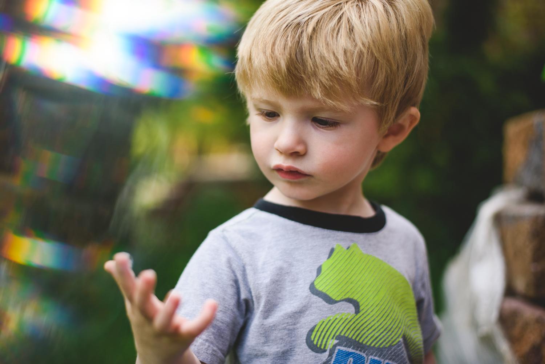 Portrait of little boy | Francesca Russell Photography | Nassau County Photographer