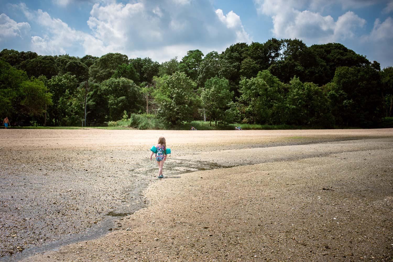 Francesca Russell Photography | Long Island Photographer | Lila on the beach