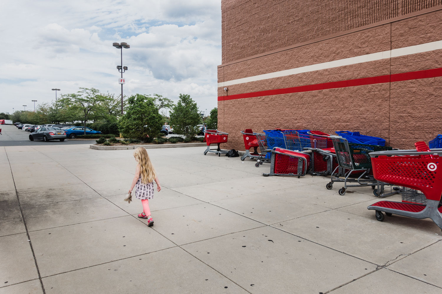 Francesca Russell Photography | Long Island Family Documentary Photography | Girl at Target