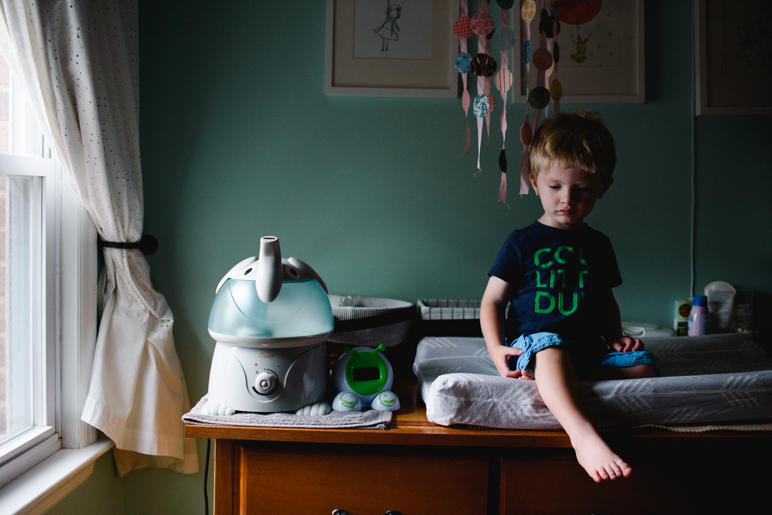 Francesca Russell Photography | Long Island Family Documentary Photography | Changing table
