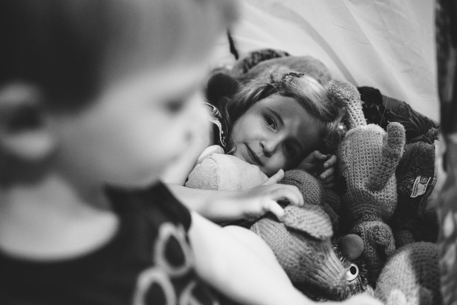 Francesca Russell Photography | Long Island Family Documentary Photography | In the tent