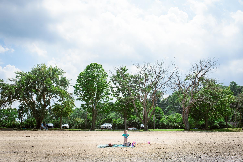 Francesca Russell Photography | Long Island Family Documentary Photography | On the beach