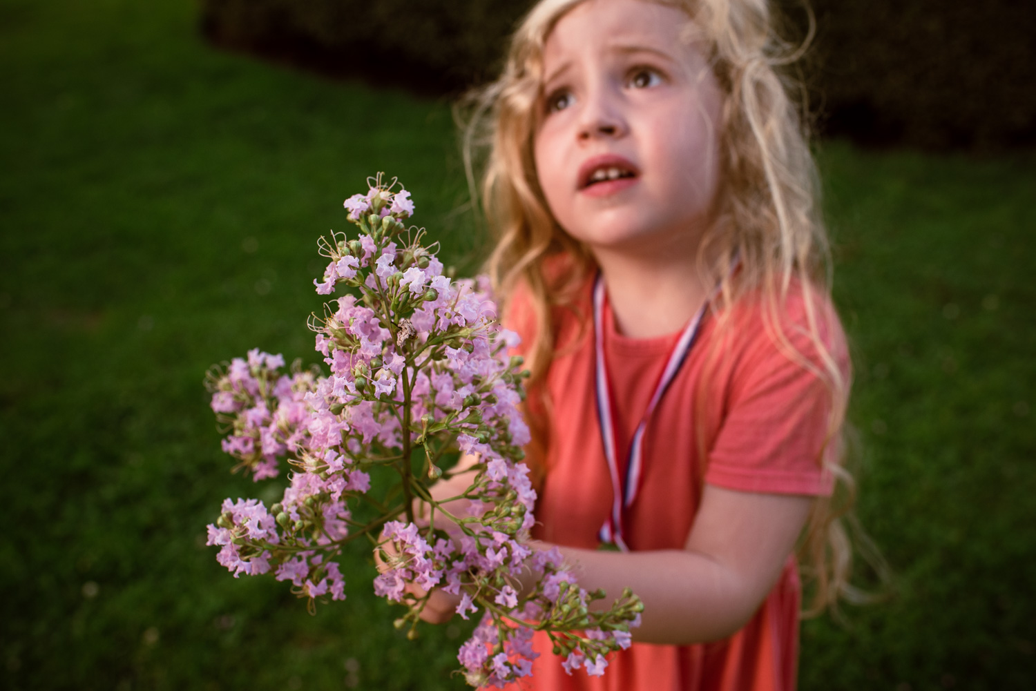 Francesca Russell Photography | Long Island Family Documentary Photography | Picking flowers