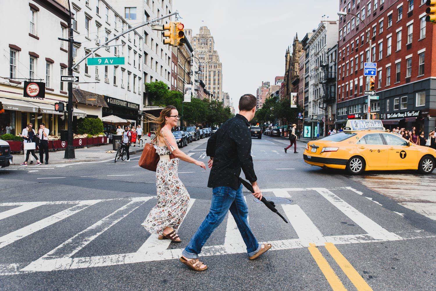 Francesca Russell Photography | New York City Family Photographer | Crossing the street