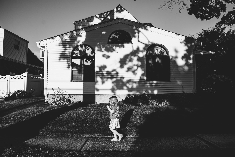 Francesca Russell Photography | Long Island Storytelling Photographer | Lila walking