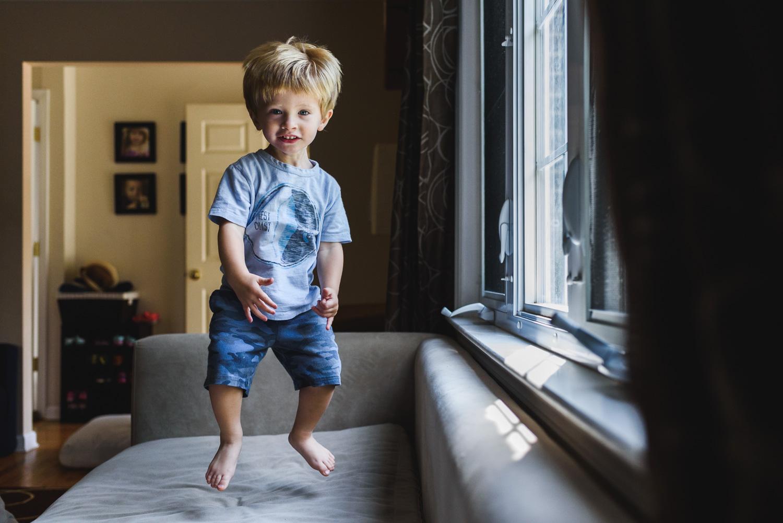 Francesca Russell Photography | Long Island Photographer | Logan jumping