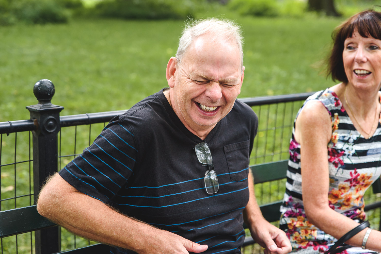 Francesca Russell Photography | New York City Vacation Photographer | Dad laughing