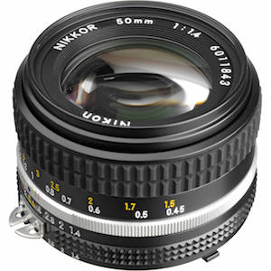 Nikon 50mm 1.4 AIS