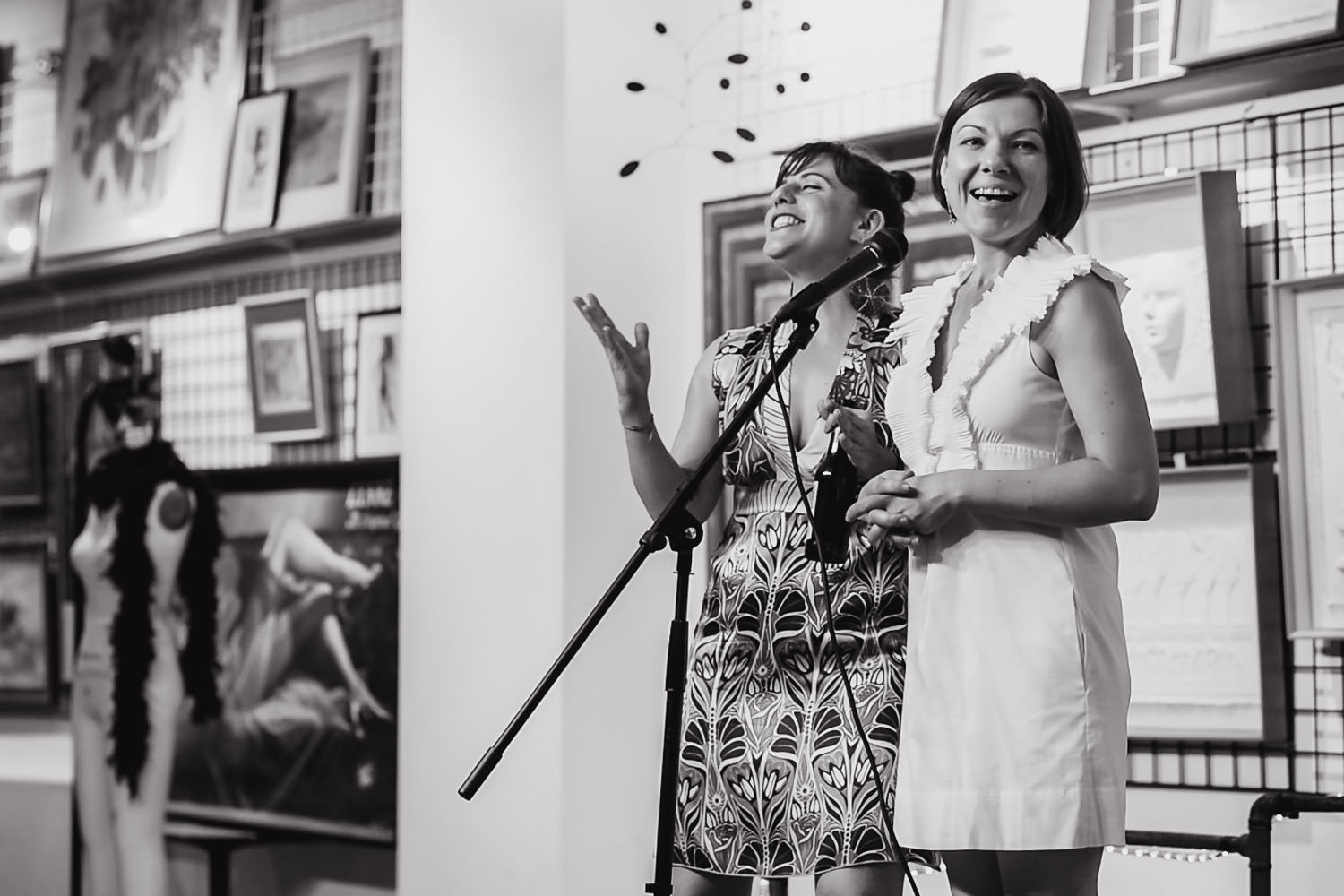 Sarah Rabenou and Zsuzsi Tass, founders of the Project Life Center.