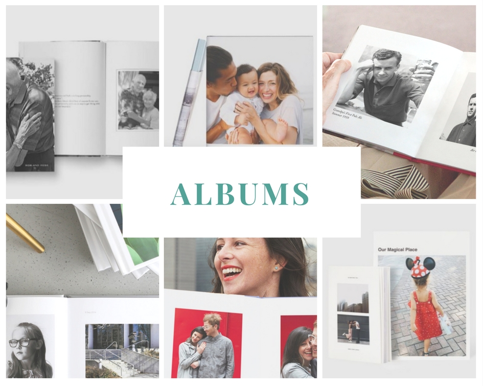 Gift Ideas for the Family Documentarian: Albums