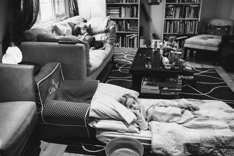 A living room scene.