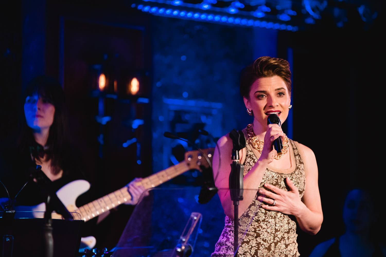 Jenn Gambatese performs at 54 Below.