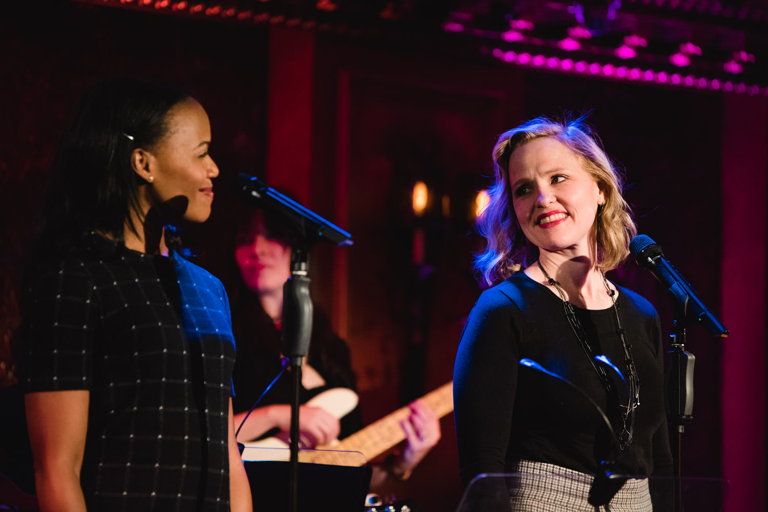 Nikki Kready and Anika Larsen perform at 54 Below.
