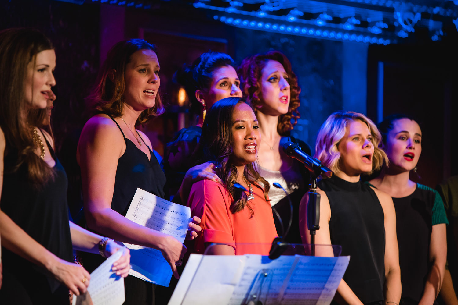 Broadway Baby Mamas concert at 54 Below.