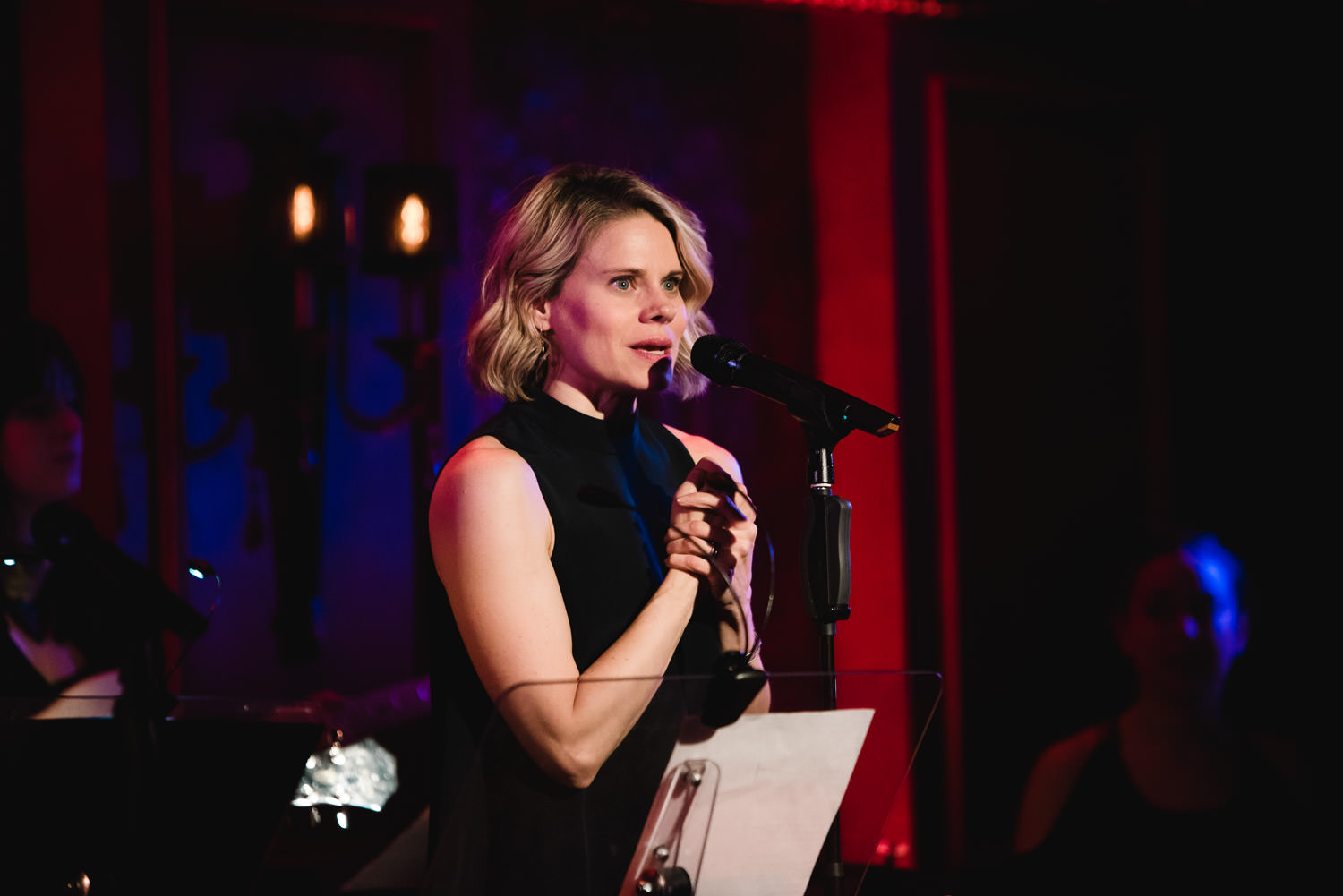 Celia Keenan-Bolger hosts a concert at 54 Below.