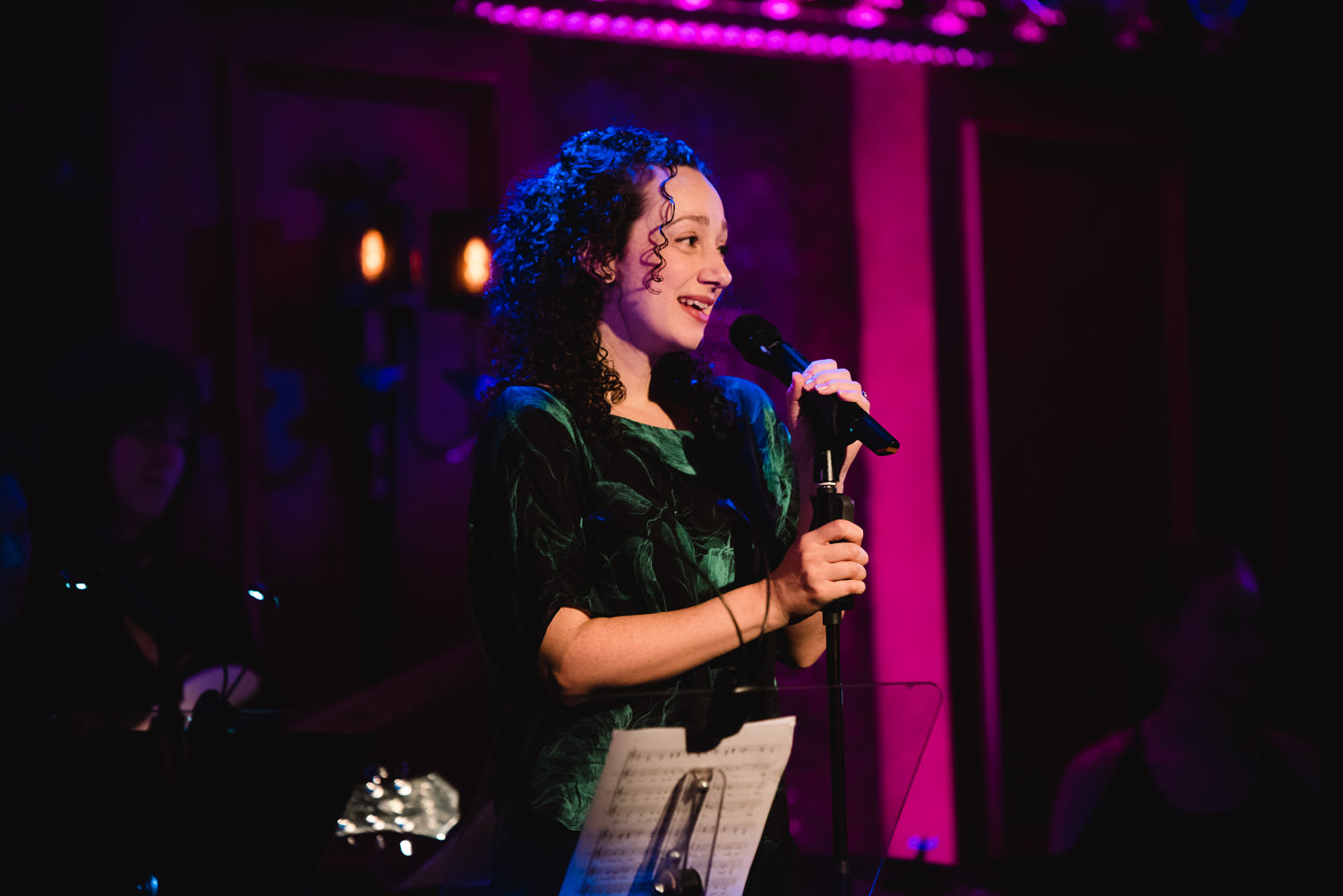 Megan McGinnis performs at 54 Below.