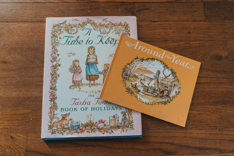 Tasha Tudor books.