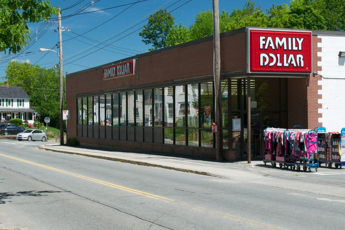 Family Dollar  St. Johnsbury, VT