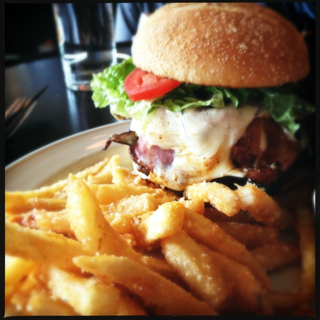 The River Rock burger and fries rank high on my all time list.