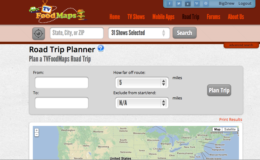 The Road Trip Planner is an awesome resource for your next vacation.