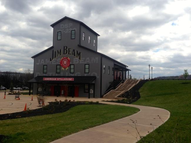 The new American Stillhouse at Jim Beam's distillery