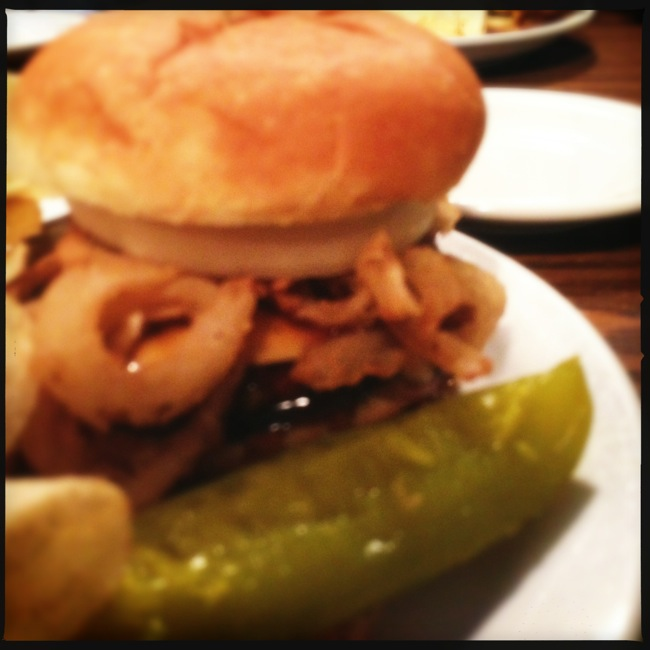 The Bourbon Burger at Mammy's easily makes my top 5 burger list. You have to try this burger.