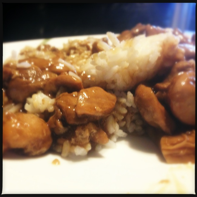 Bourbon Chicken and Rice is a simple and delicious dinner.