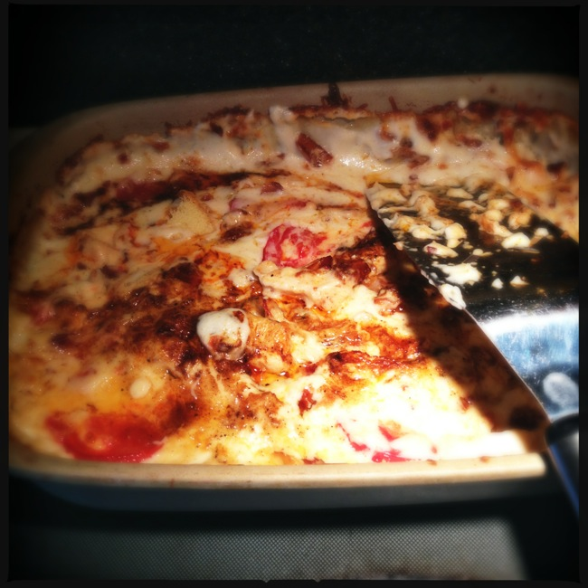 Hot Brown Casserole makes for a great dinner