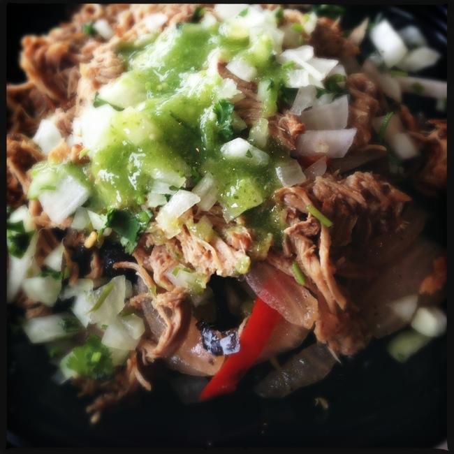 The Carnitas Baja Bowl from Baja Fresh