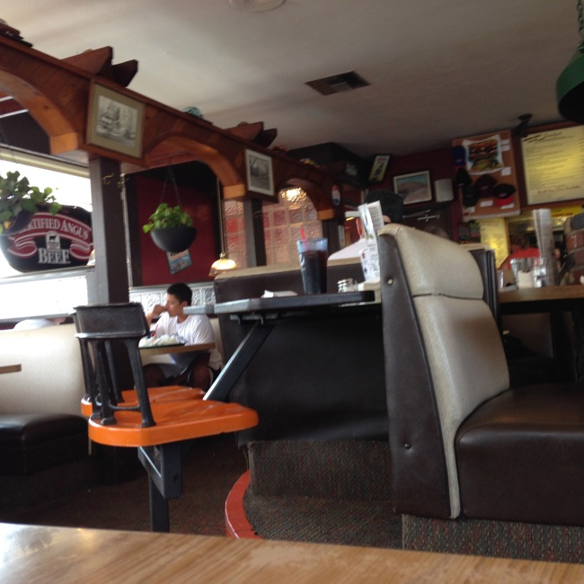The interior of the Pilot Butte Drive-In is exactly like you would imagine an old-style drive-in to be.