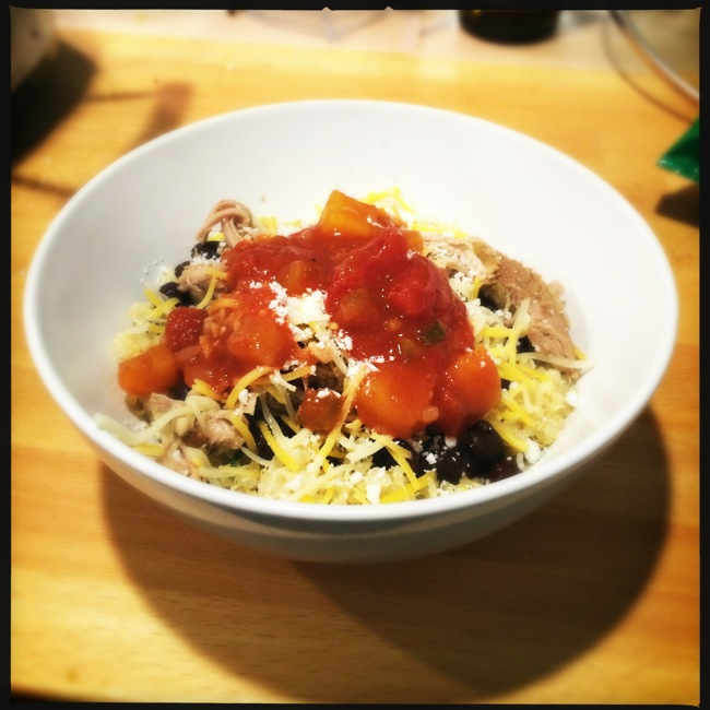A Gluten-Free take on the Burrito Bowl that I like better than those served at the popular chains