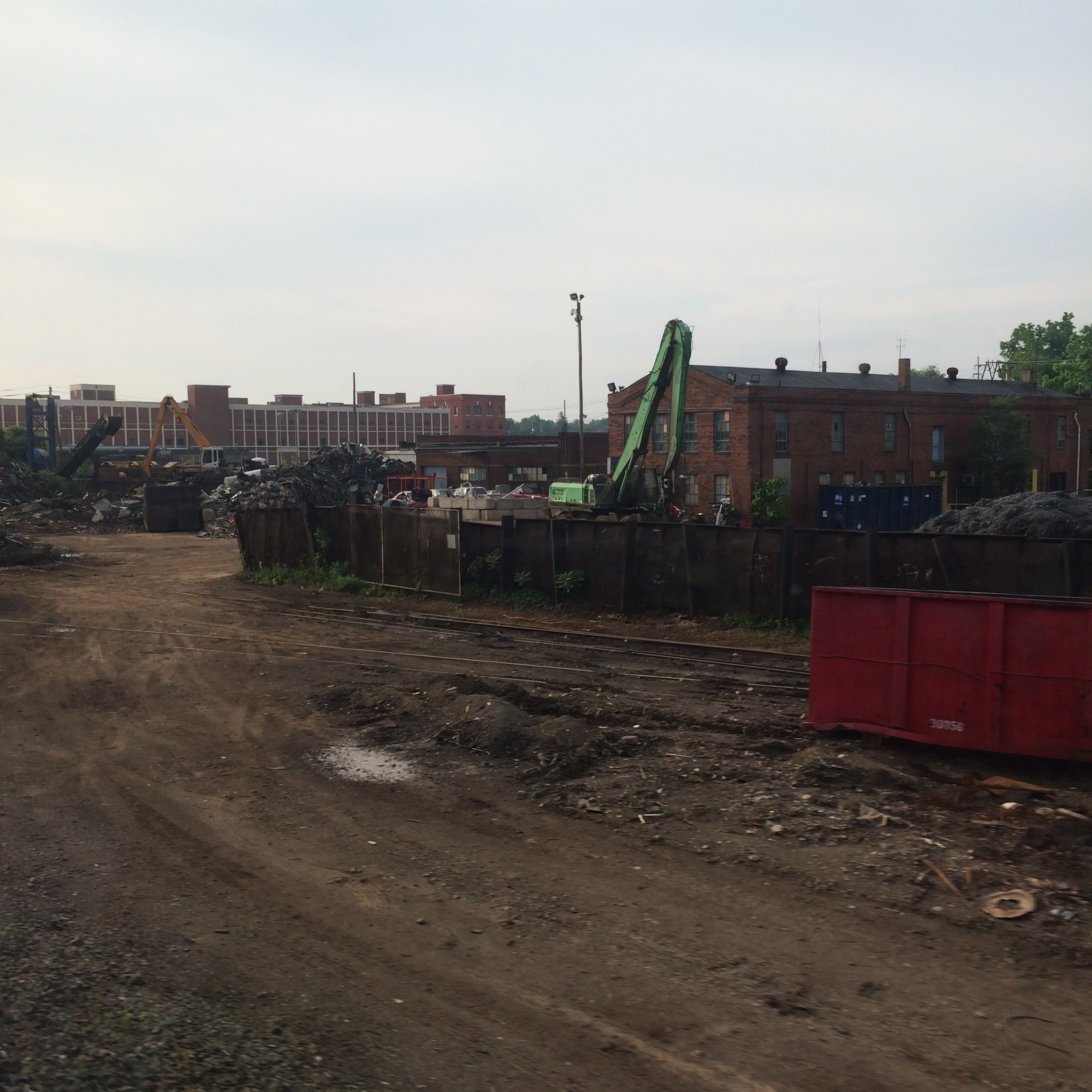 Elyria, OH....many cities along here are falling apart with the loss of industry