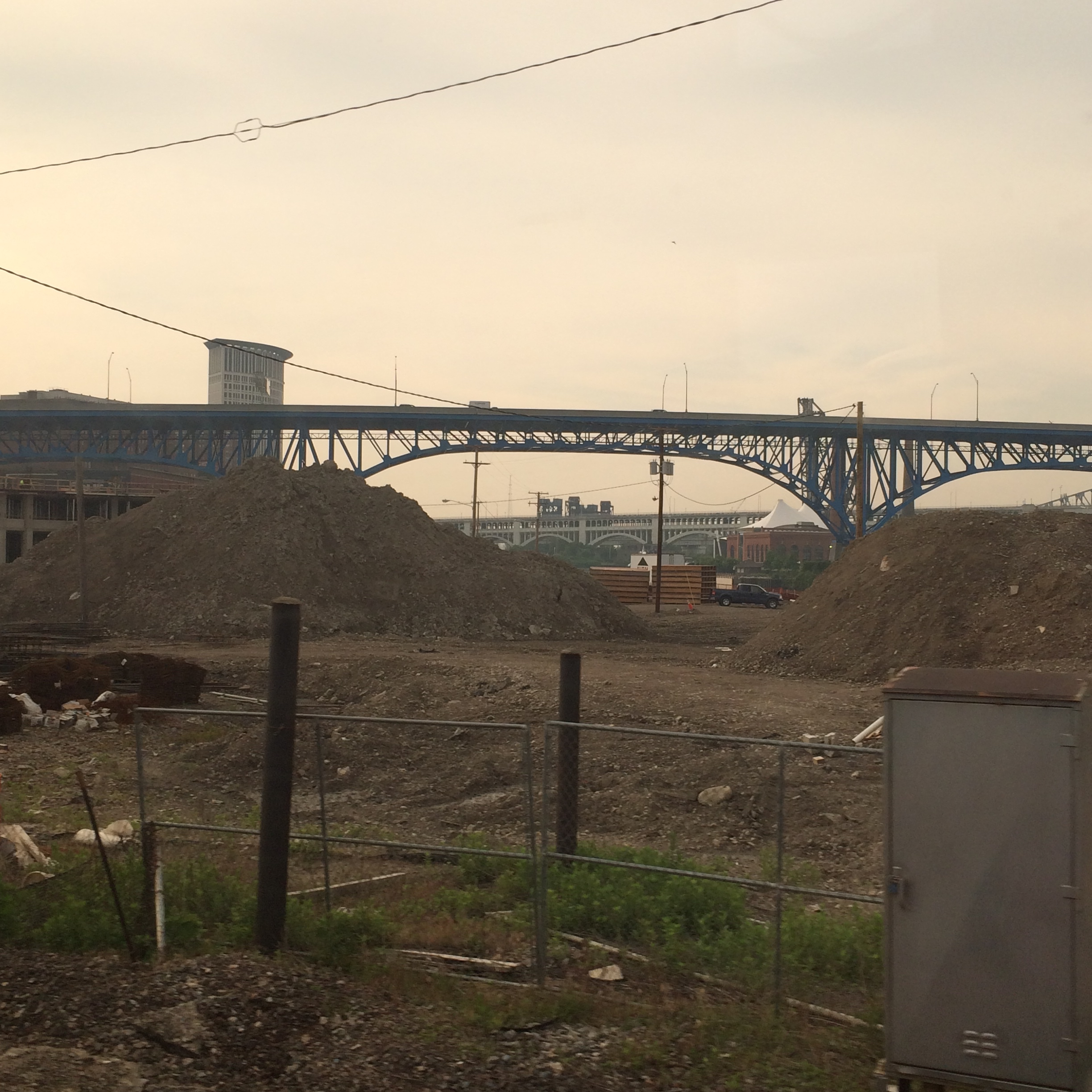 Even the outskirts of Cleveland, OH have areas that are being torn down because they are falling apart.