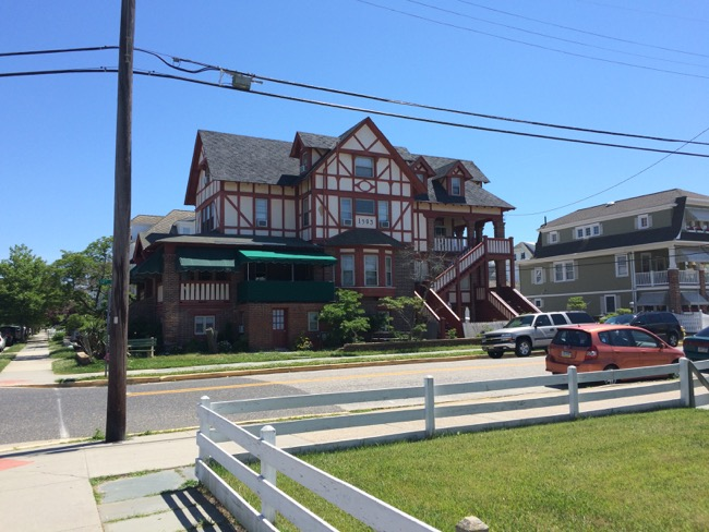 What we were told is the oldest home standing in Ocean City, this beautiful residence was built in 1903