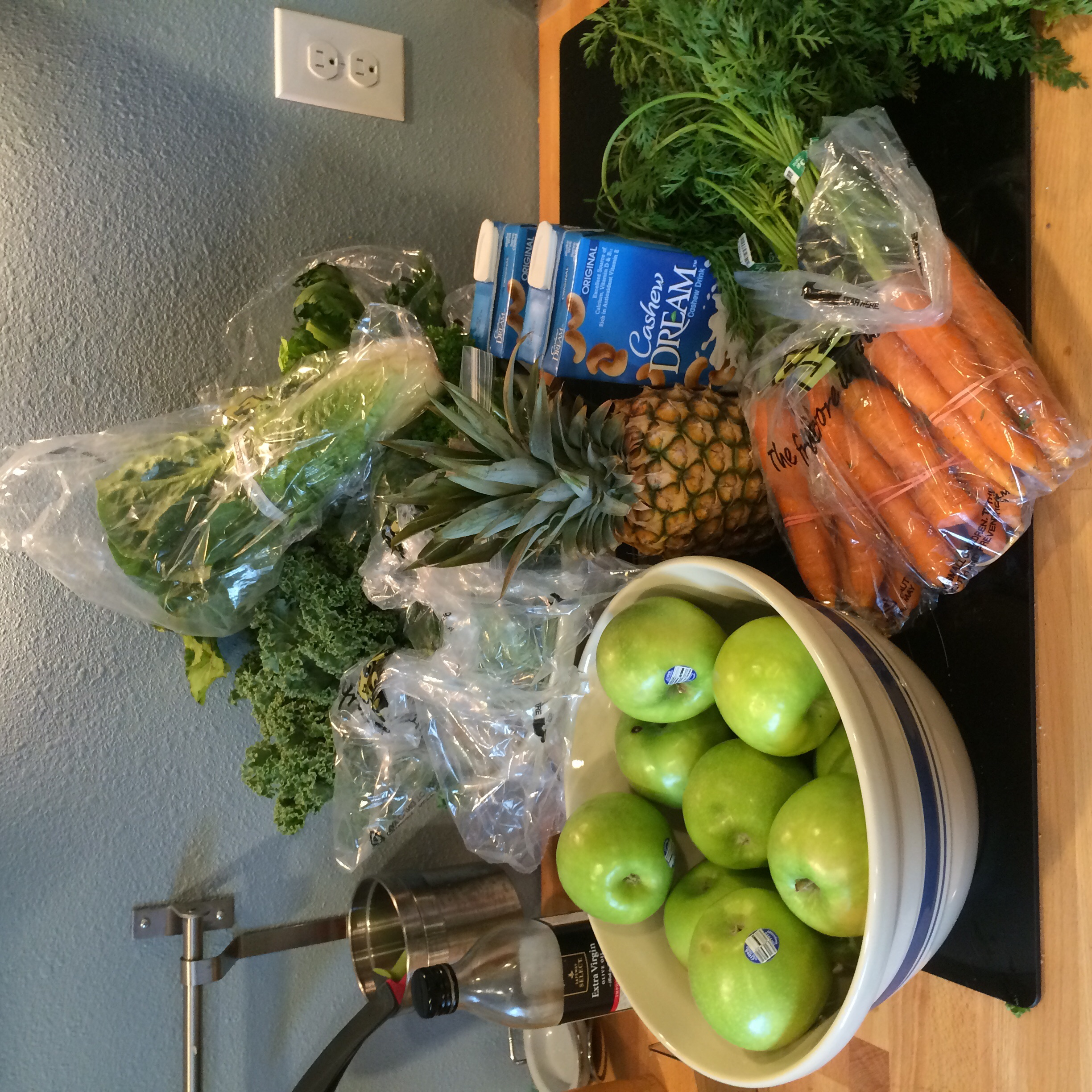All of this for just 3 days of juice?  This is more vegetables and fruit than I ate last year!