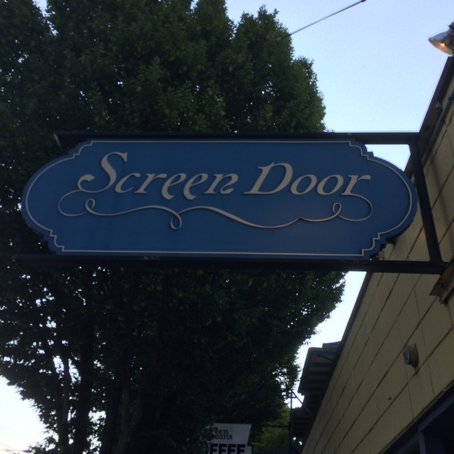 Screen Door, on NE Burnside in Portland serves up a northwest take on traditional Southern home cooking