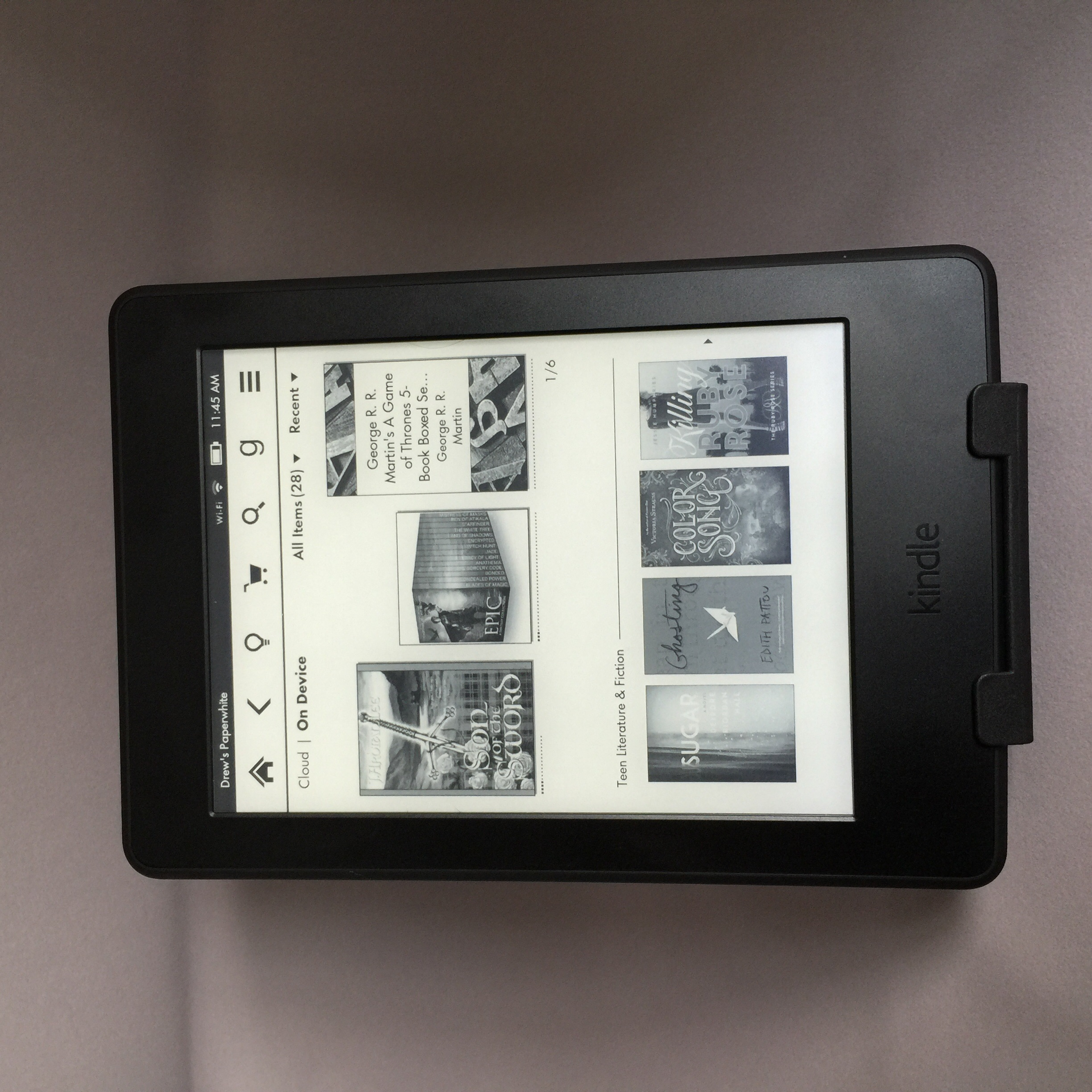 Amazon's newest version of the Paperwhite takes a few more steps toward perfection