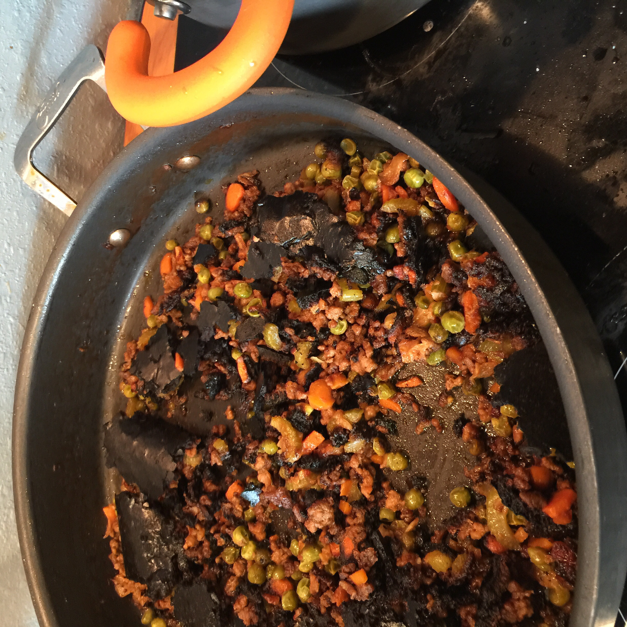 Beef Bolognese gone wrong