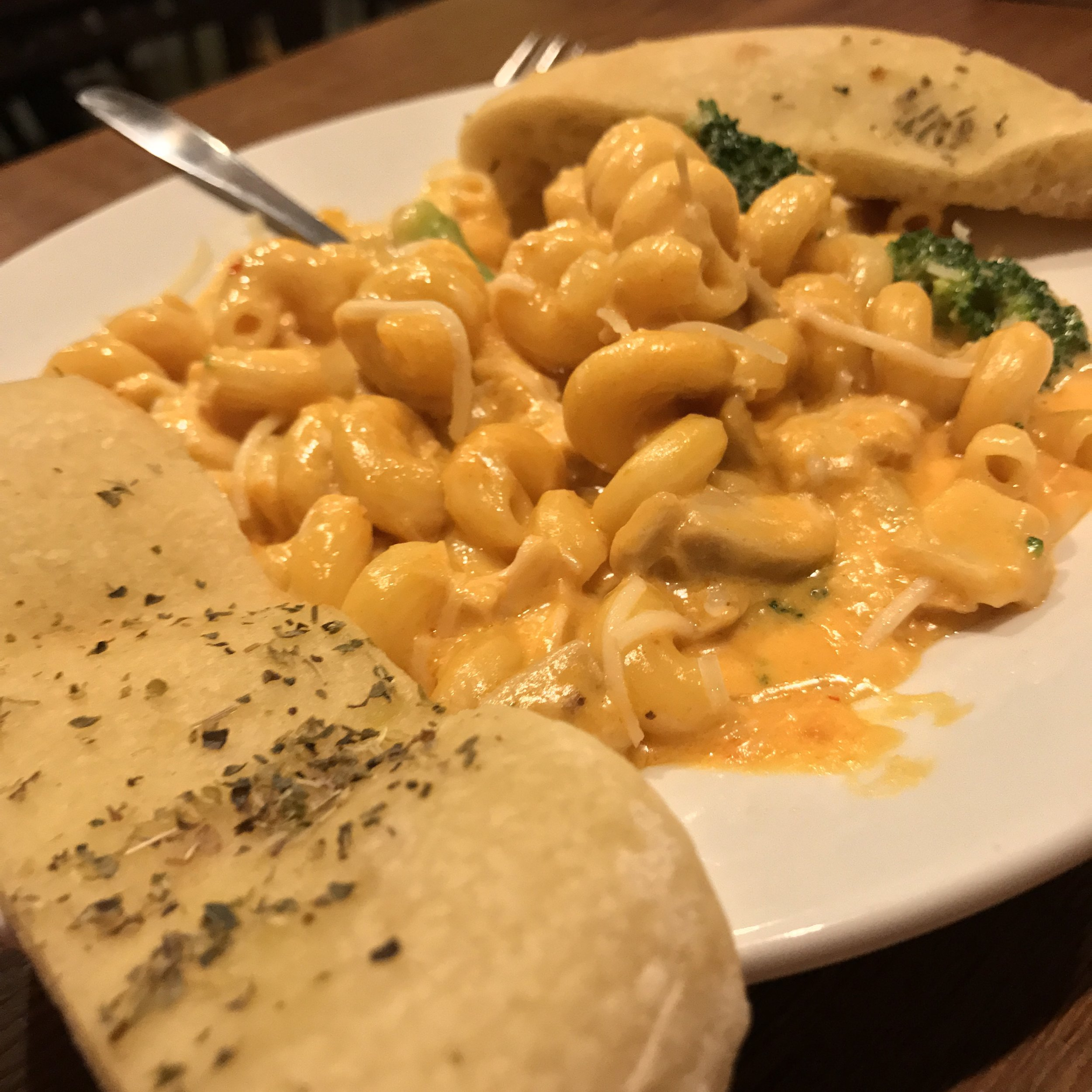 Thai Red Curry Mac'n'Cheese is one of the stars on ABV's Winter specials menu
