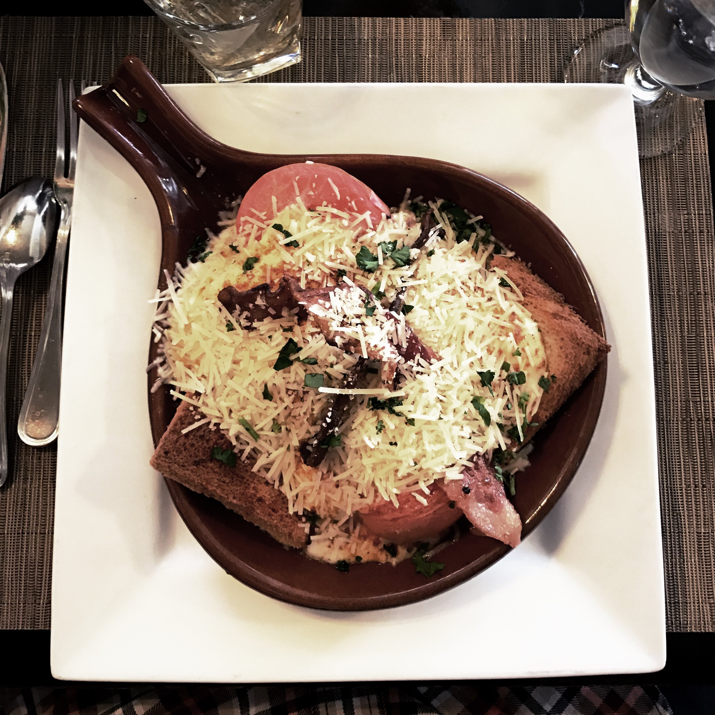 The world famous Hot Brown originated in this historic cafe