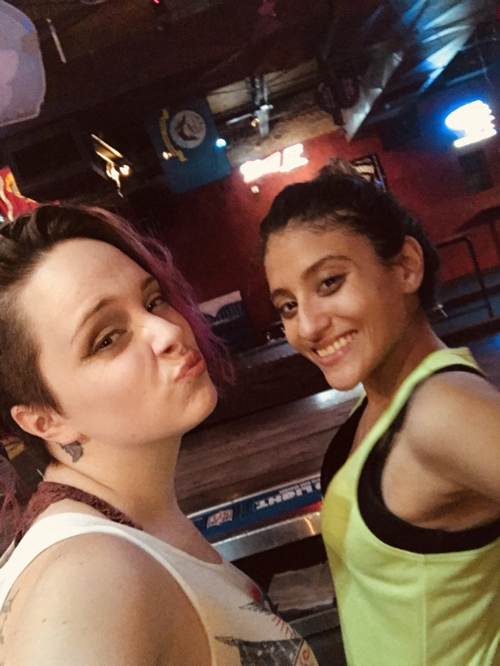 And then your bartenders steal your phone off the bar to take a selfie!