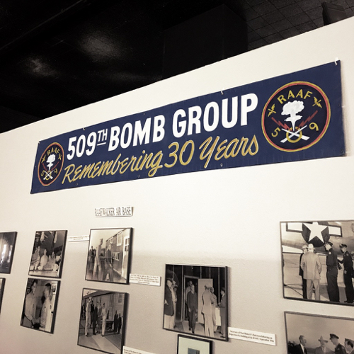 The 509th Bomb Group was the Army Air Force group stationed at Roswell in 1947