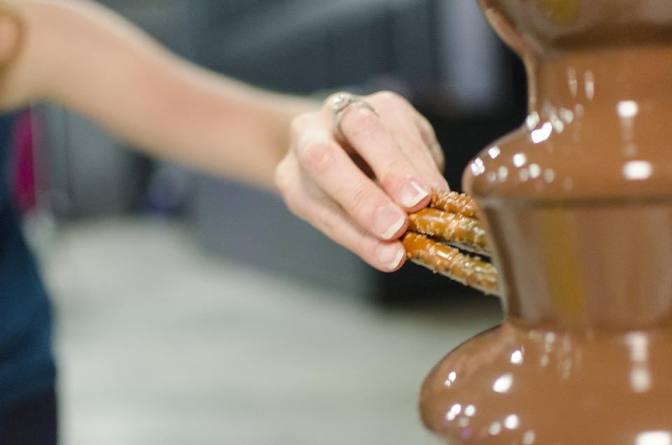 Chocolate founntain
