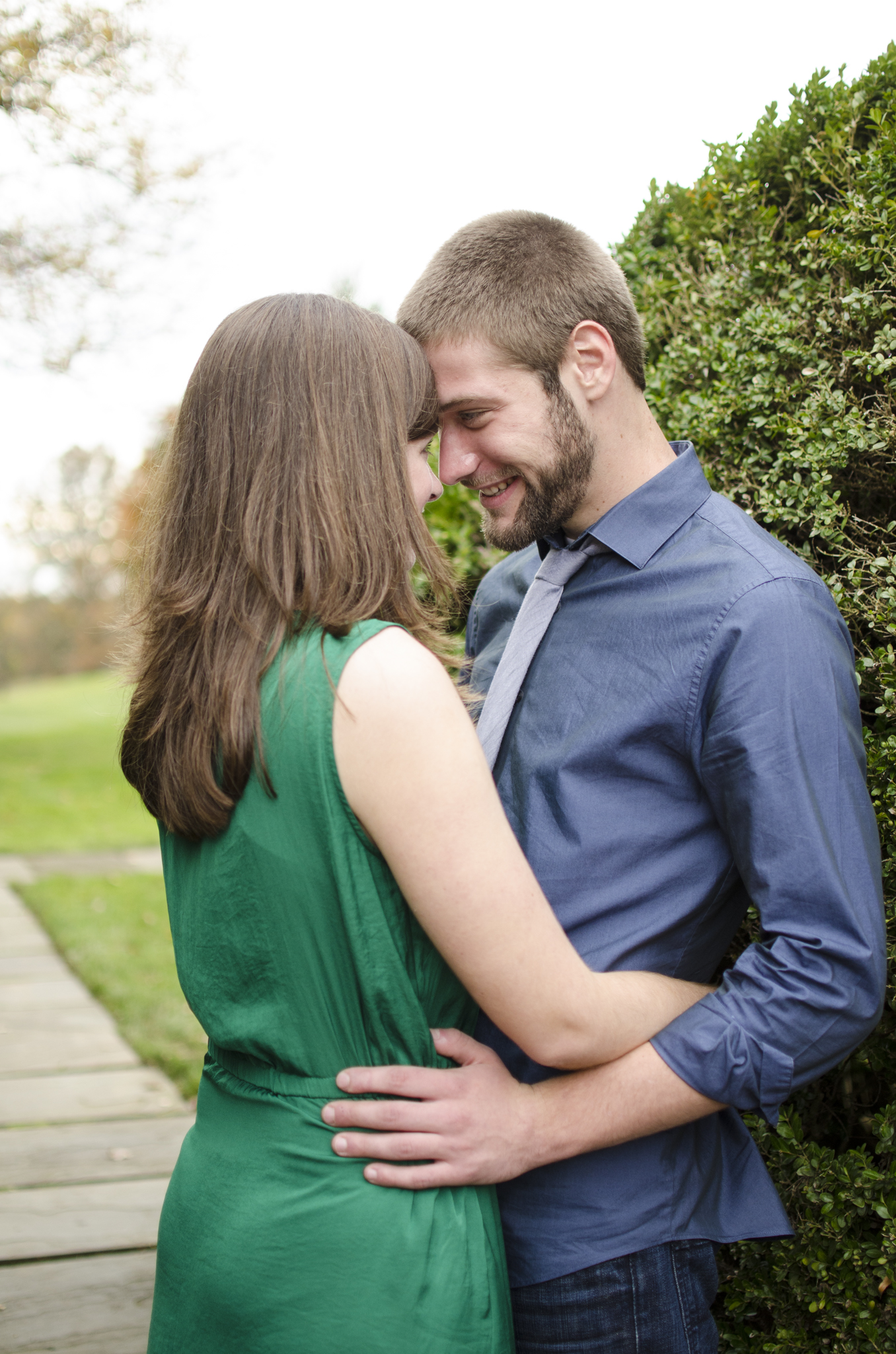 Fall engagement photographer in Baltimore, Maryland