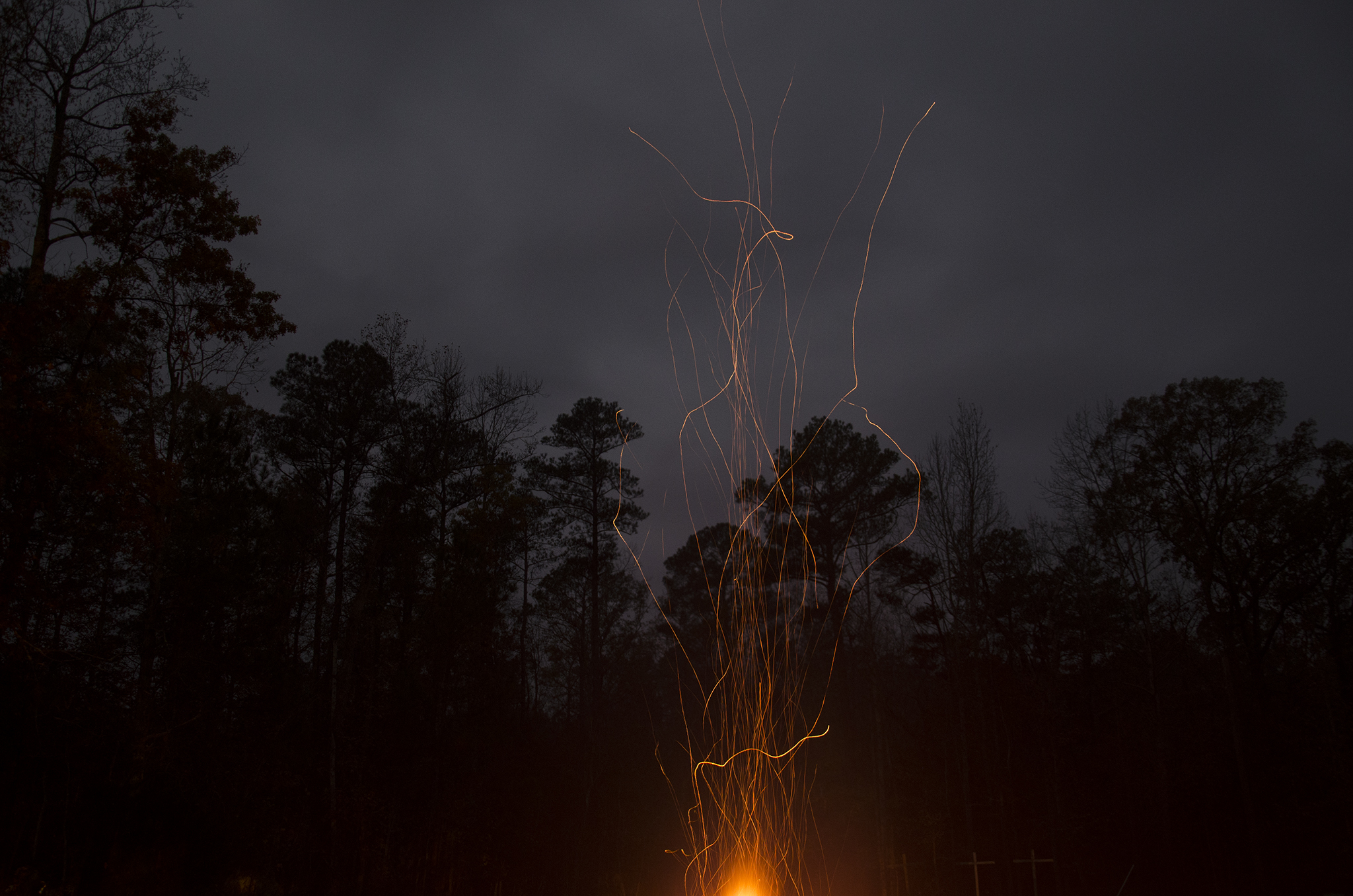 Camp Rudolph Fire in Yale, Virginia