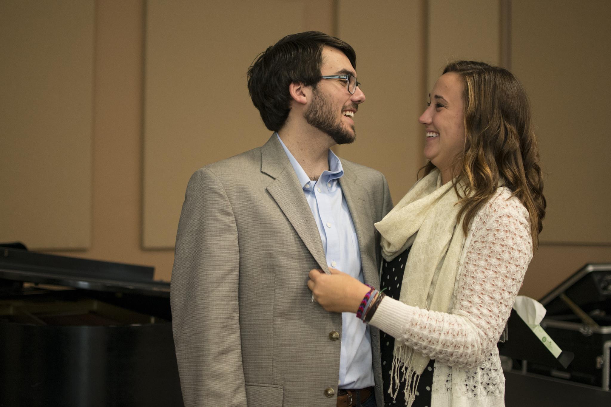 proposal at liberty baptist church in hampton, virginia