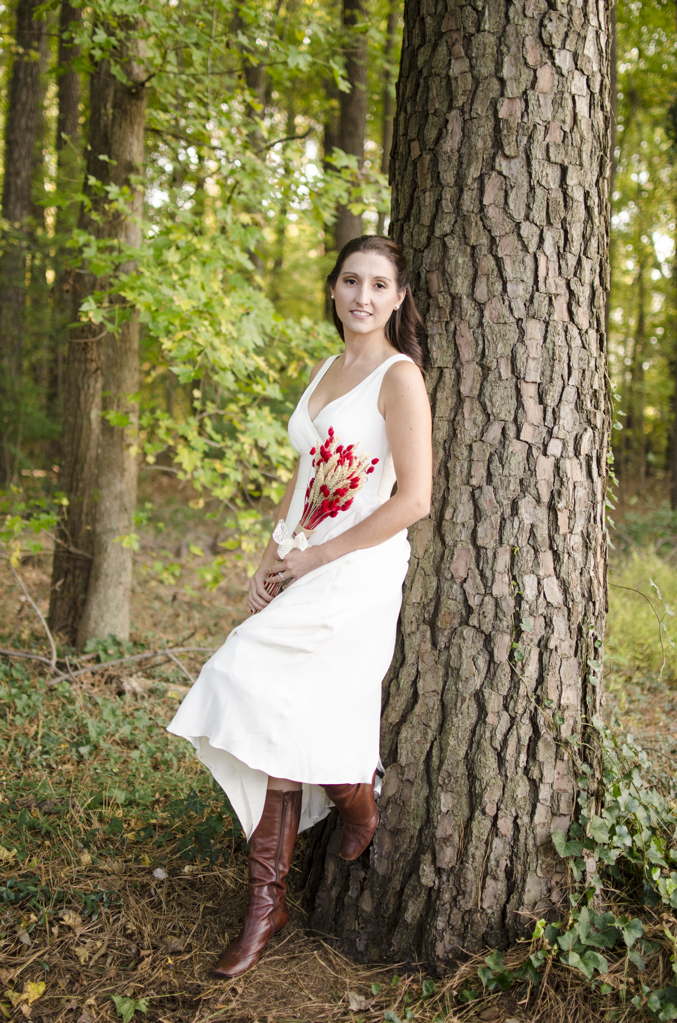 Red Wing Park bridal portraits in Virginia Beach