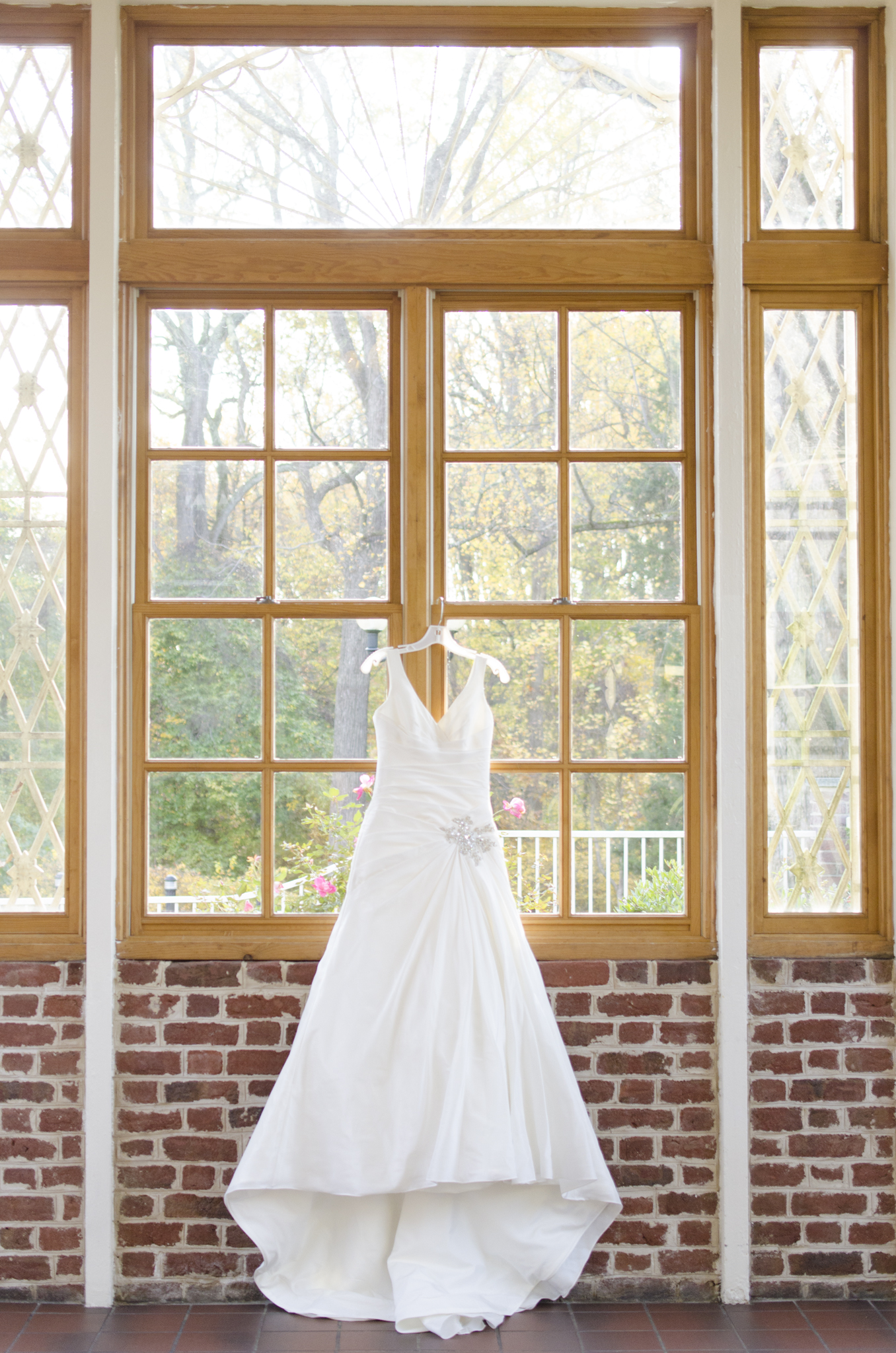 Baltimore, Maryland | Newton White Mansion wedding dress photographer